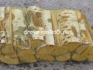 Сухие дрова камерной сушки